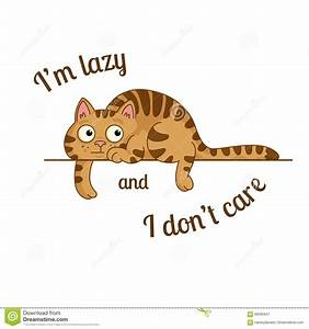 Lazy cat clipart - Clipground
