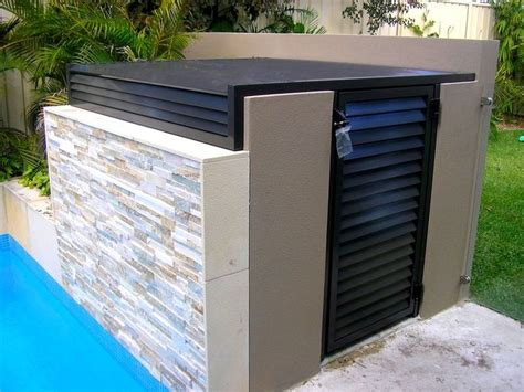 pool equipment shed 17 best images about pool ideas on noise
