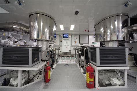 Yacht Engine Room by Galego Engine Room Yacht Charter Superyacht News