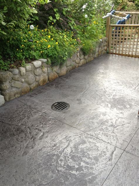 concrete patios with pits quotes