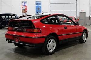 1990 Honda Civic Crx 29306 Miles Red Coupe 1 5l I4 5 Speed