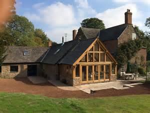 kitchen extension design ideas wye oak traditional oak framing