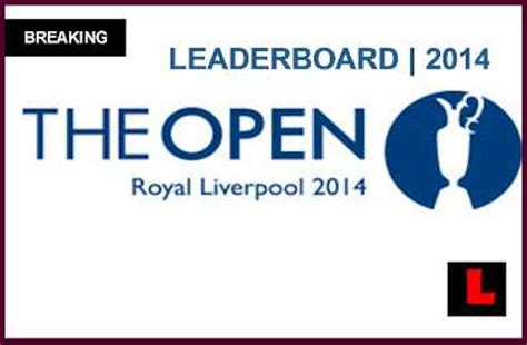 pga leaderboard  today british open results  rory