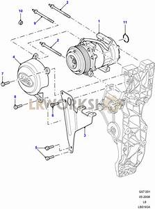 Air Conditioning Compressor - 2 4 Tdci