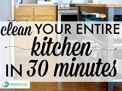 Kitchen Cleaning Montreal by Clean Your Kitchen In 30 Minutes Cleaning Services