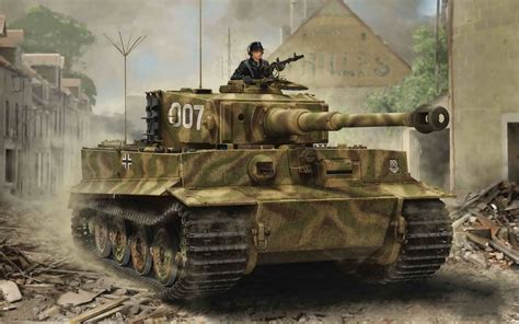 tiger  german battle tank wwii armored vehicles world