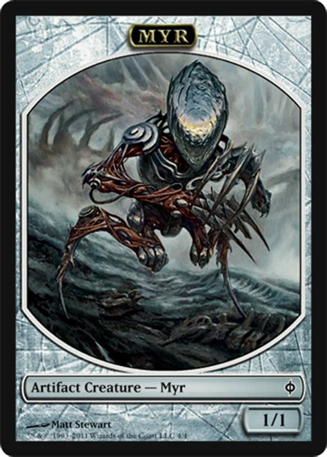 Mtg Golem Token Deck by Golem Token Theros Magic The Gathering At