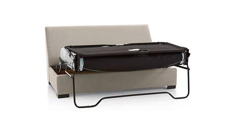 Armless Sleeper Sofa by Axis Ii Armless Sleeper Sofa Nickel Crate And Barrel
