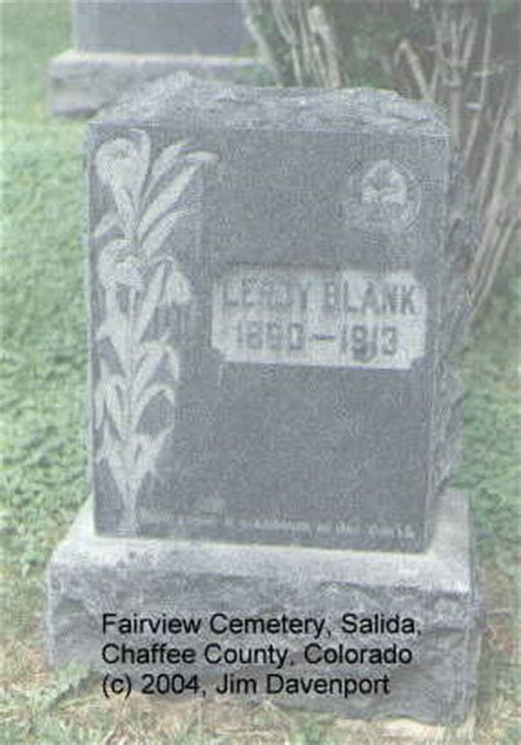 fairview cemetery headstones salida chaffee county