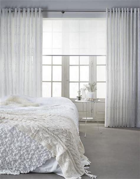 vitrage jan des bouvrie witte gordijnen van toppoint collectie callisto in de