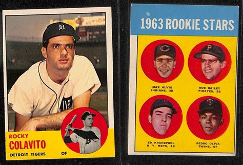 Maybe you would like to learn more about one of these? Lot Detail - Lot of 60+ 1963 Topps Baseball Cards w ...