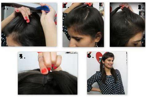 simple hairstyles  long hair step  step