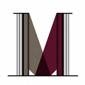 letter m wall decal rosenberryroomscom With letter m stickers