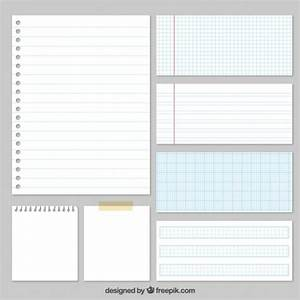 Variety of papers Vector | Free Download