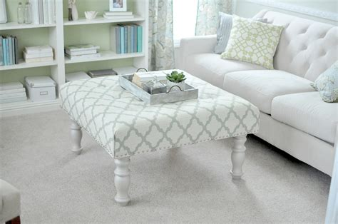 how to upholster an ottoman coffee table 17 clever ways to turn junk into gorgeous furniture