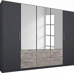 Kleiderschrank Mit Viel Stauraum : rauch pack s kleiderschrank siegen mit spiegel und ~ Whattoseeinmadrid.com Haus und Dekorationen