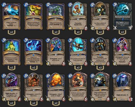 shaman deck blackrock chaman m 233 ca malygos hearthstone heroes of warcraft