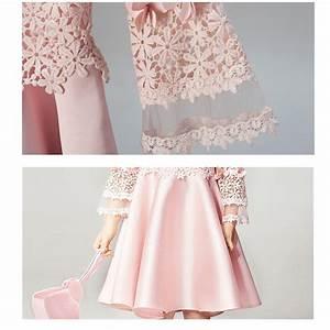 Robe De Demoiselle D Honneur Fille : robe de c r monie rose petite fille manches longues ~ Mglfilm.com Idées de Décoration