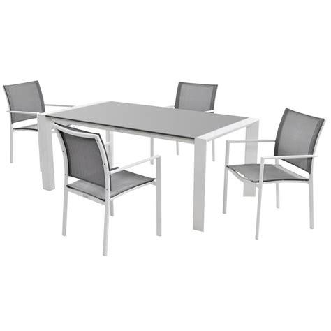mykonos gray 5 patio set el dorado furniture