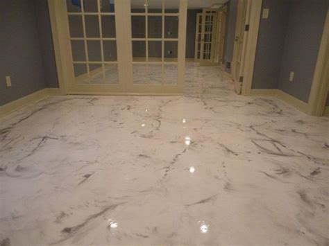 Floor Paint Marble by Concrete Stained Like Marble Search Floors In