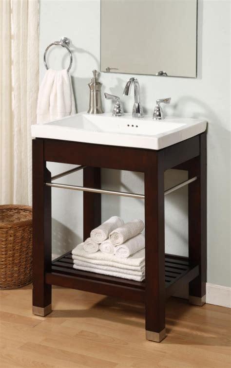 modern single sink square console bathroom vanity