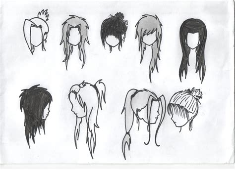 Anime Hairstyles by Anime Hairstyles Random Idiot Deviantart Hairstyles