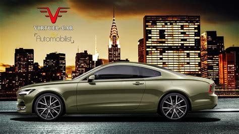 volvo announces sleek  coupe