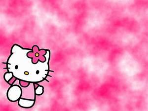 Pink Background Hello Kitty Wallpaper - Unique Wallpaper