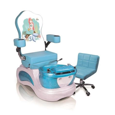 mermaid kids pedicure chair