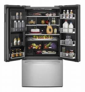 Jennair French Door Refrigerator  72 U0026quot  High Jffcc72efs