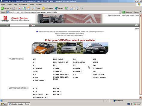 Citroen Service by Citroen Service Box 2014 Parts And Service Manual
