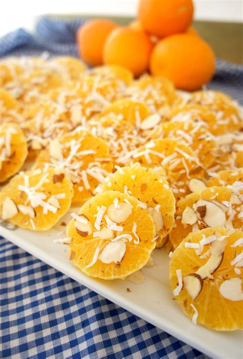 Oranges With Vanilla Syrup A Love Letter To Food