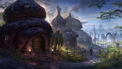 Skyrim Elder Scrolls Fantasy Rpg Mmo Desktop