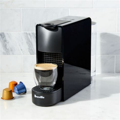 Nespresso by Breville Essenza Mini Black Espresso Maker