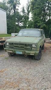 1986 Chevrolet Military Blazer M1009 Cucv K5 For Sale
