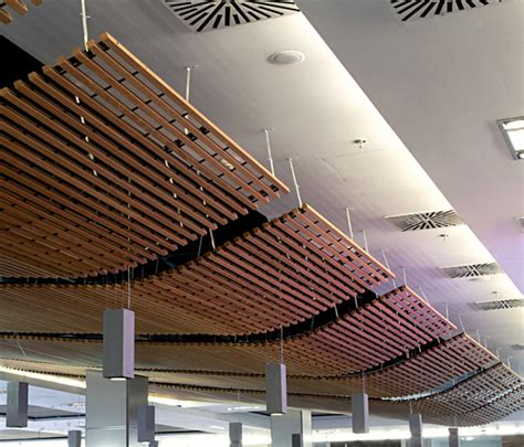 Suspended Wood Ceiling by Wood Grid Ceiling By Douglas Product