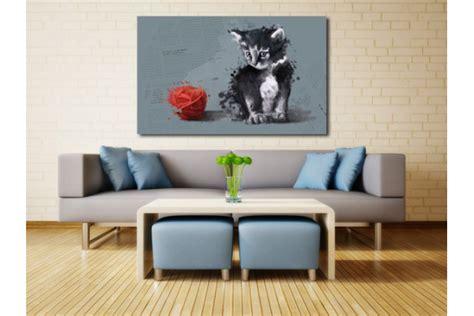 tableau decoration interieur tableau d 233 co raoul le chat izoa