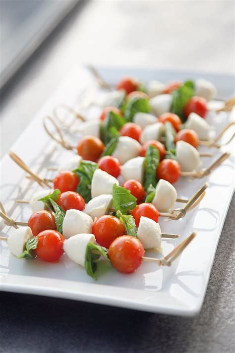Skewers | Caprese Recipes | POPSUGAR Food Photo 4
