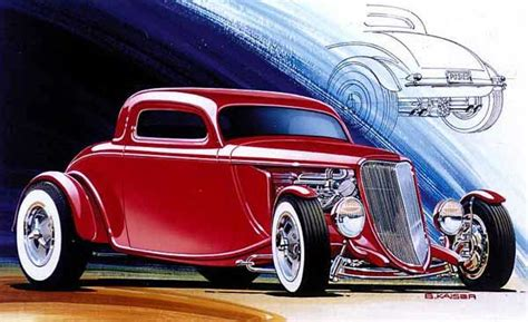 concept rendering  posies  ford coupe mashinki
