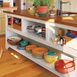 kitchen island with open shelves warm and inviting open shelves 28 thrifty ways to customize your kitchen this house