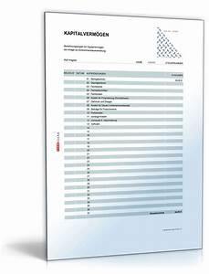 Fahrtkosten Berechnen : rechentabelle werbungskosten kapitalverm gen vorlage zum download ~ Themetempest.com Abrechnung