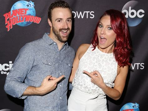 James Hinchcliffe Meets 'dwts' Partner Sharna Burgess