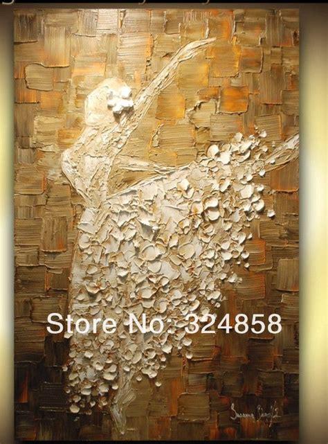 huge wall painting dancing girl artwork oil painting