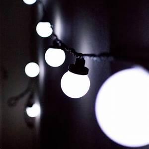Guirlande Noel Solaire : guirlande lumineuse exterieur guinguette ~ Teatrodelosmanantiales.com Idées de Décoration