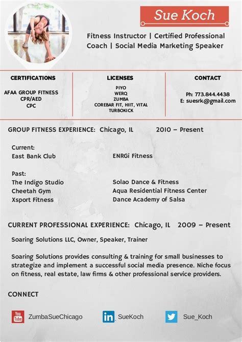 Fitness Instructor Resume by Fitness Instructor Resume Talktomartyb