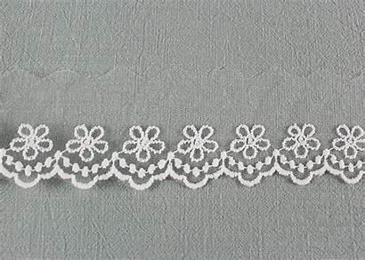 Lace Ribbon Trim Embroidery Custom Flower Nylon