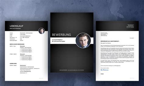 bewerbung muster professionelle design vorlagen
