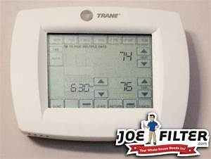 Trane Thermostat Settings