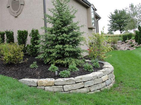 landscape retaining wall design installation