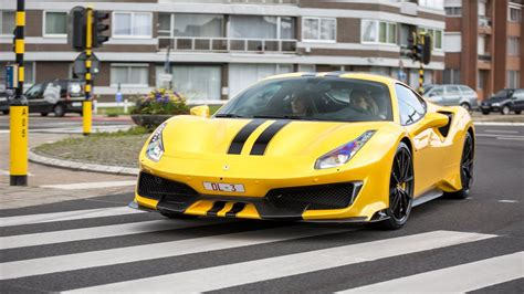 The ferrari 488 pista never ceases to amaze us so despite the fact that weve already seen the first reviews even a public road sighting of the track special can act like an attention magnet. Ferrari 488 Pista - Acceleration Sounds ! - YouTube